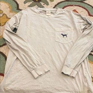 Victoria secrets pink long sleeve shirt